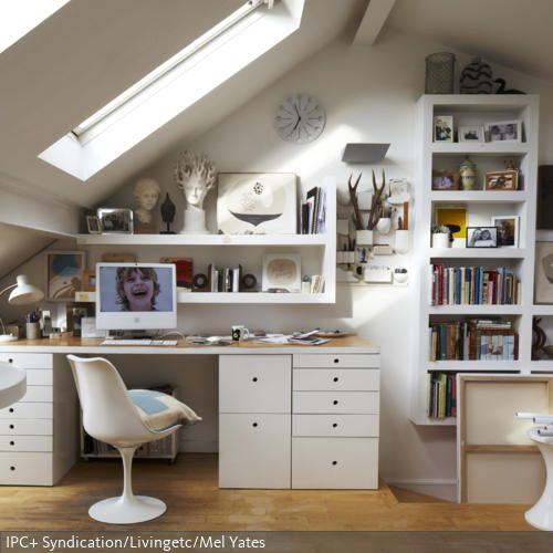 schreibtische on pinterest. Black Bedroom Furniture Sets. Home Design Ideas