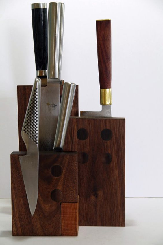 Magnetic Knife Blocks Knife Block And Countertops On