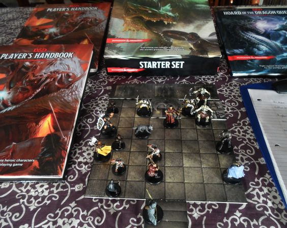 Dungeons and dragons 5.0 - Jogando