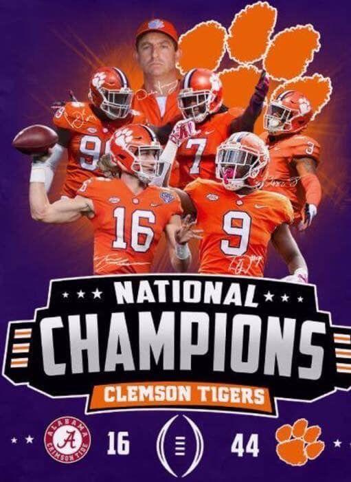 Clemson Tigers National Champions Contour Travel Mug