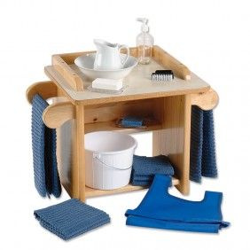 Montessori Hand Washing Activity with Stand: