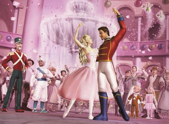 Barbie in the Nutcracker....BEST MOVIE EVER!!!!!! Barbie sucks now, along with everything else.