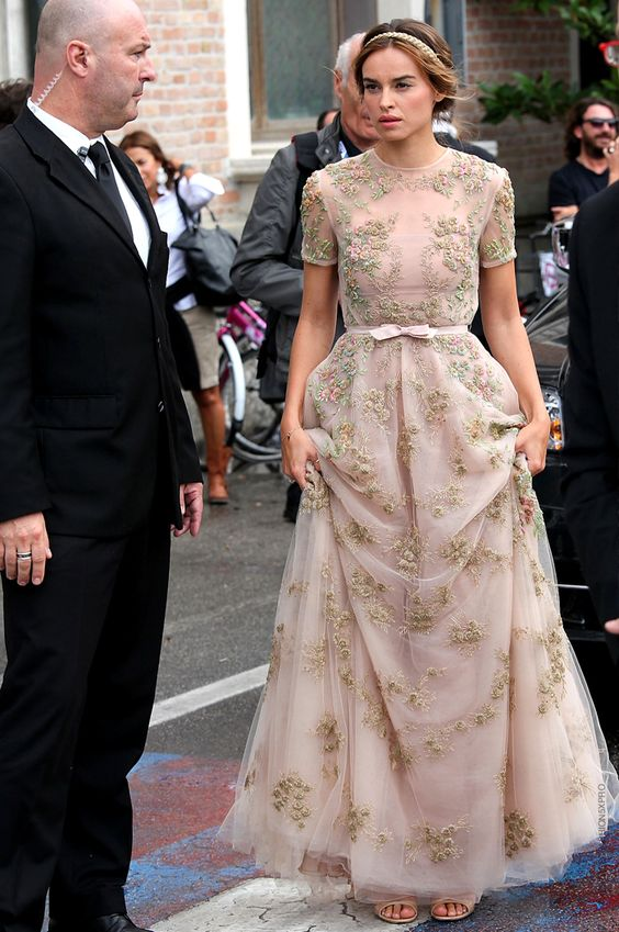 Kasia Smutniak in Valentino Resort 2013 at 'The Master' premiere at Venice Film Festival 2012