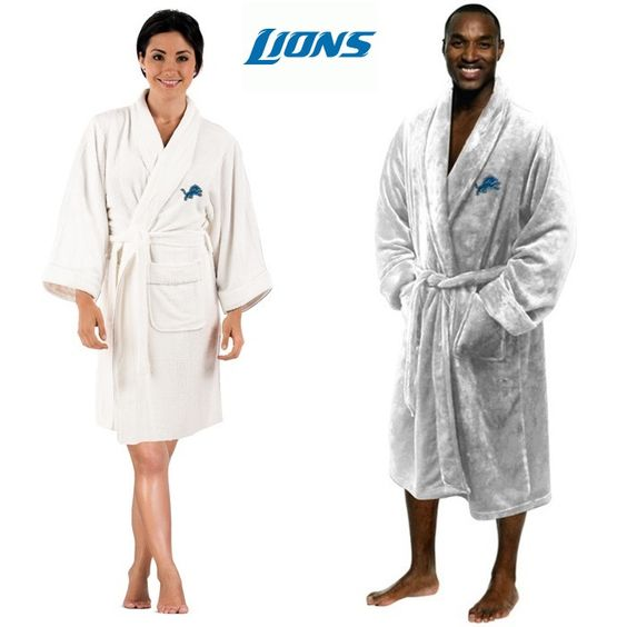 Use this Exclusive coupon code: PINFIVE to receive an additional 5% off the Detroit Lions NFL Bath Robe at SportsFansPlus.com