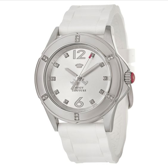 Juicy Couture Women's 1900995 'Rich Girl' White Watch