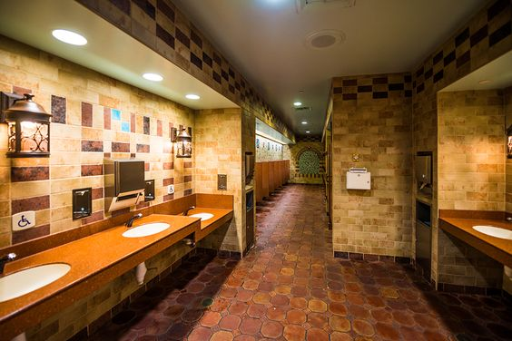 Fun Disney Facts and Tips | Top 10 Restrooms at Disney World  | There's no limit to the Imagineers' creativity!: