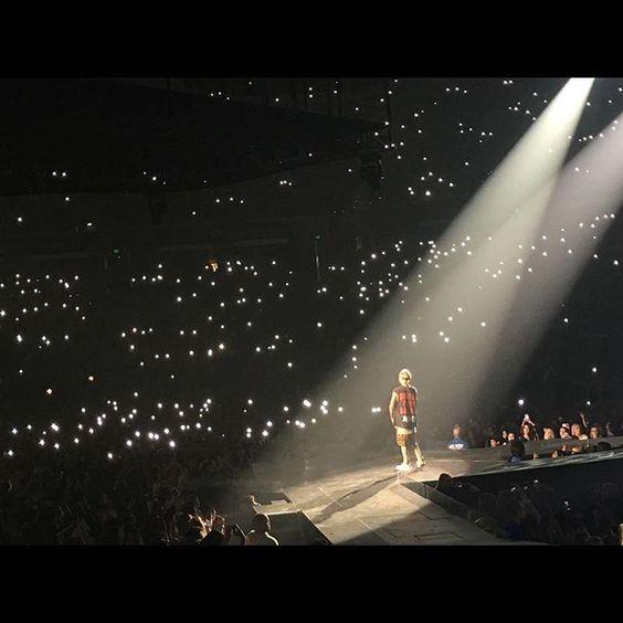 Show Picture #Sacramento #purpose #justinbieber #purposeworldtour2016 #purposetour #purposetoursacramento