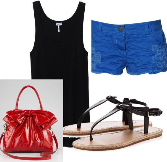 """4th of July"" by holly-miller on Polyvore"