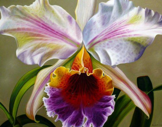 Flores. #Óleo sobre #Lienzo. La inmensidad de la naturaleza.