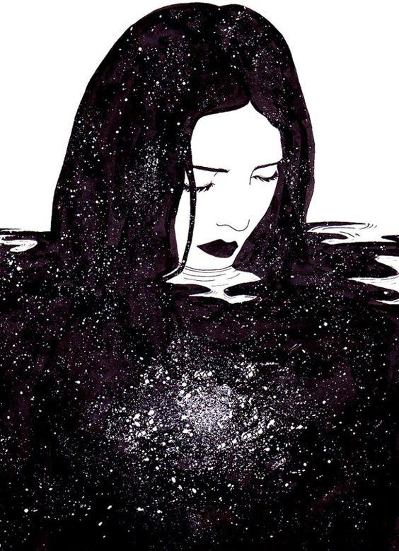 Sensualidad y surrealismo en las ilustraciones de Sivan Karim - Esto no es arte