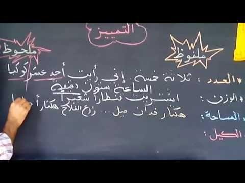 التمييز الملفوظ والملحوظ للمستوى الخامس و السادس ابتدائي Youtube Art Quotes Chalkboard Quote Art Chalkboard Quotes