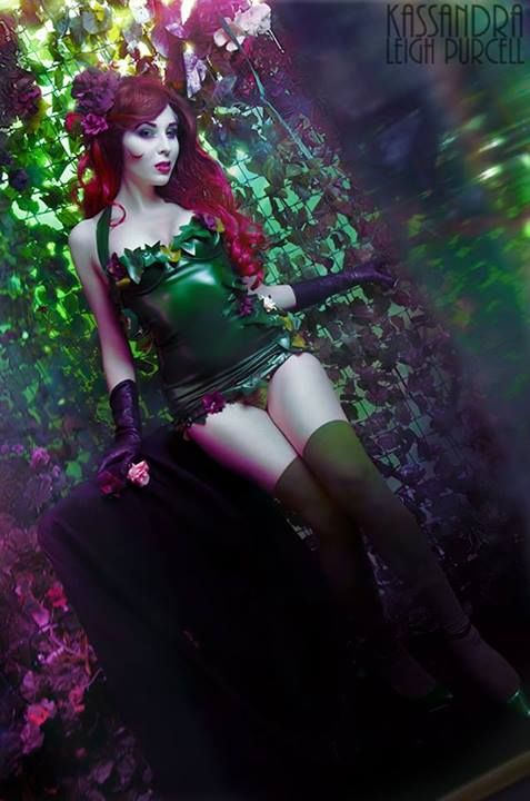 #Cosplay: Poison Ivy by Kassandra Leigh