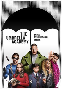 The whole Umbrella Academy Poster