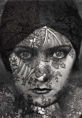 Gloria Swanson photographed by Edward Steichen for a 1924 Vanity Fair.: