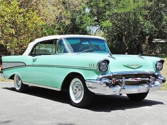 1957 Chevrolet Bel Air Convertible...Re-pin brought to you by #bestrate #CarInsurance at #HouseofInsurance Eugene