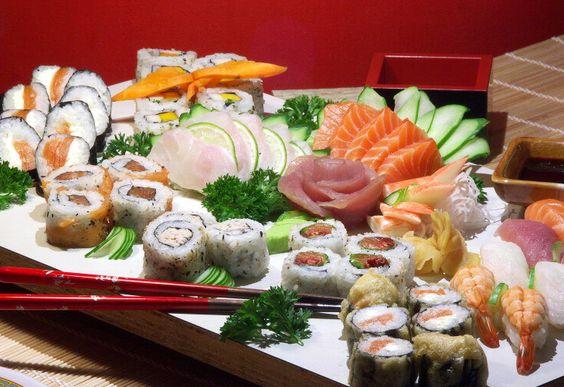 comida japonêsa