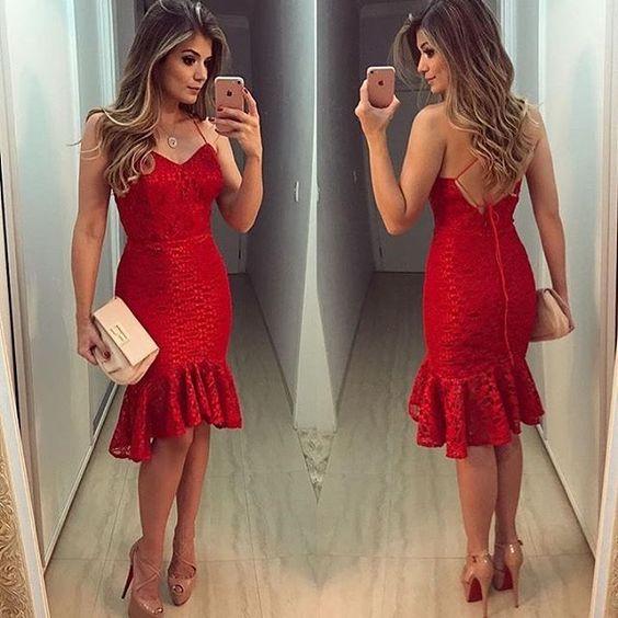Vestido para Ano Novo 2020 Vermelho
