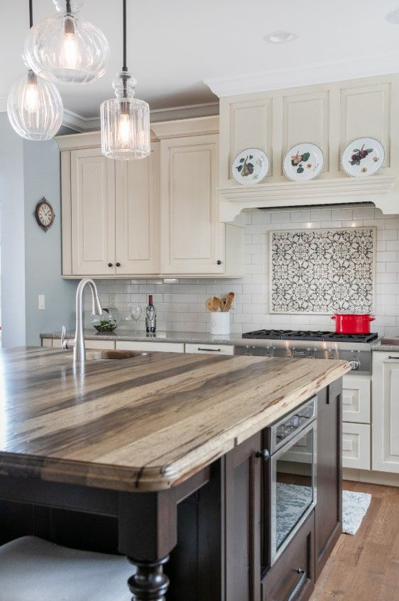 Saxon Wood Kitchen Island Countertop Grothouse Island