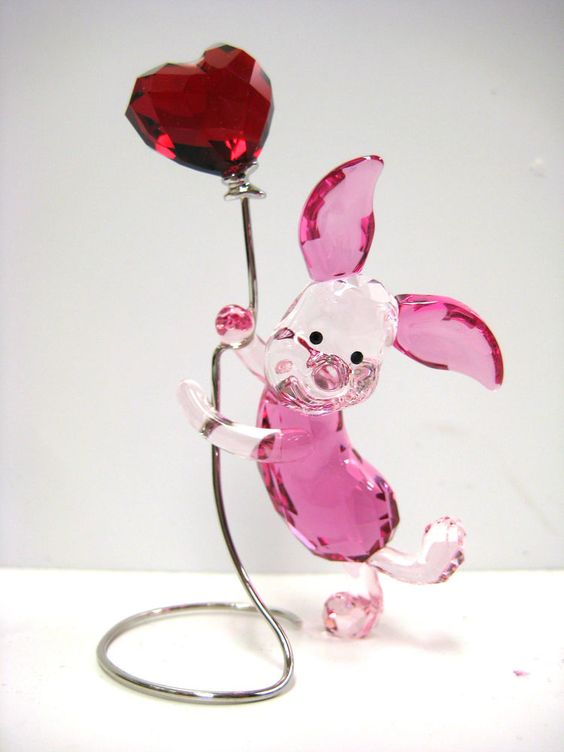 PIGLET FROM WINNIE THE POOH 2012 DISNEY BY SWAROVSKI #1142890