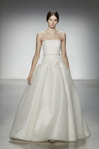 """Amsale """"Hemsley"""": Lace Ball Gowns, Wedding Gowns, Popular Wedding Dresses, Ball Gown Wedding, Fashion Weddings Simple"""