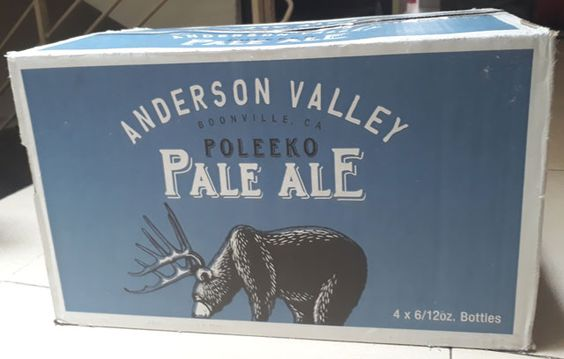 Bia Anderson Valley Poleeko Pale Ale 5% - Chai 330ml