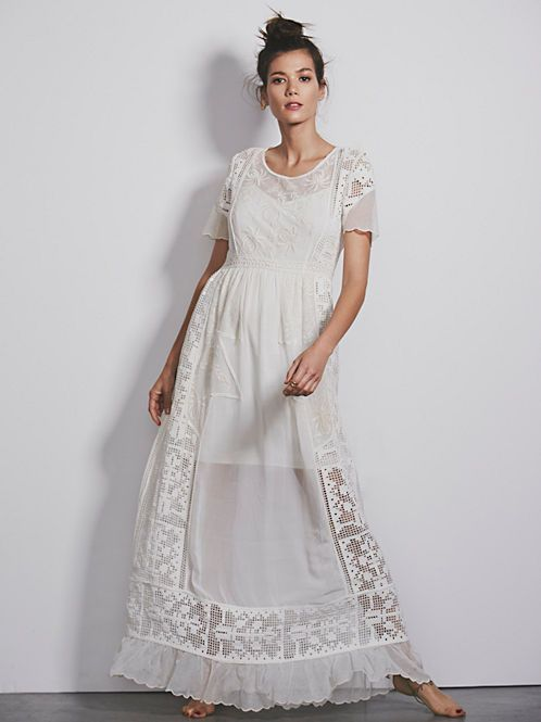 Free People Merrie's White Victorian at Free People Clothing Boutique