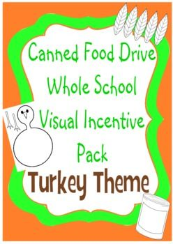 Incentives For Canned Food Drive