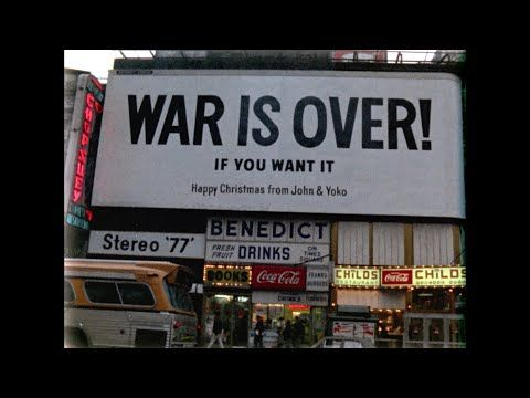 Happy Xmas War Is Over John Yoko Plastic Ono Band Harlem Community Choir Official Music Video John Lennon Happy Christmas Plastic Ono Band For You Song