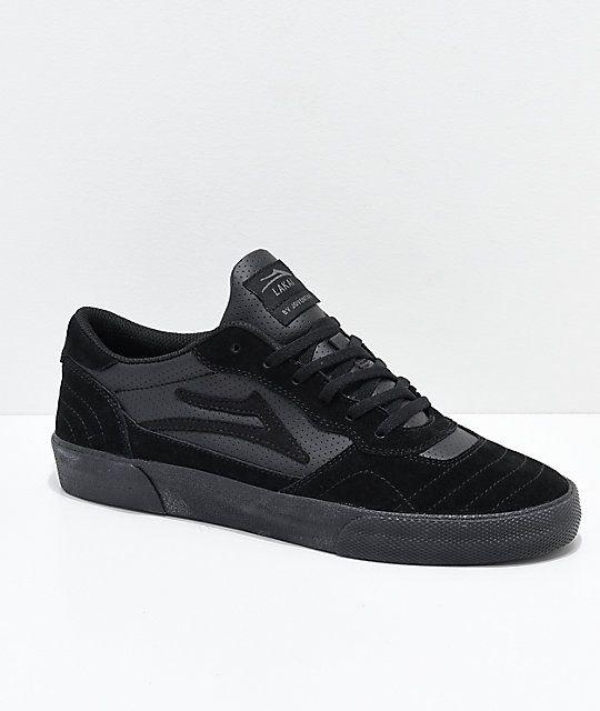 productos de calidad adecuado para hombres/mujeres buscar Lakai Cambridge All Black Suede Skate Shoes Solo a Pedido ...