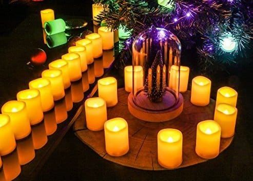 Top 10 Best Flameless Candles Reviews In 2018