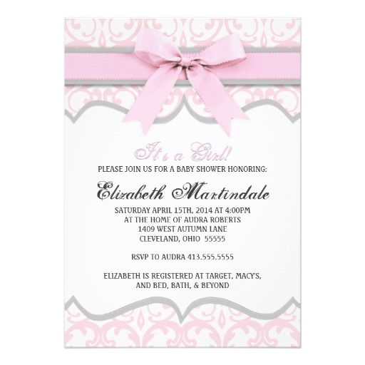 baby showers babies girly girl girl baby showers heart pink and gray