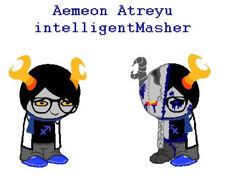 Heinoustuck: Aemeon Atreyu by AngelDevilShapeshift