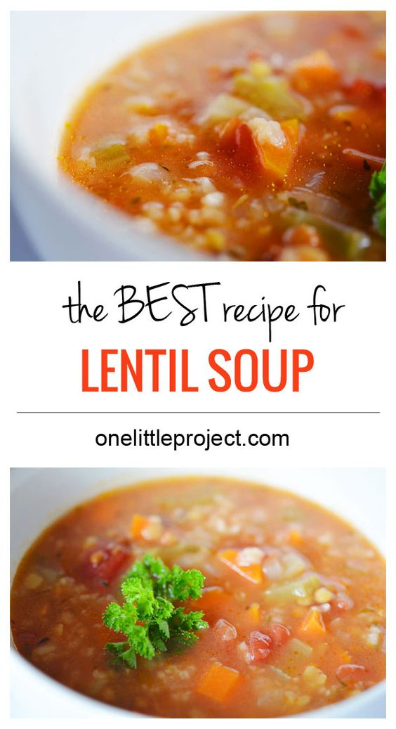 Top 28 Best Lentil Soup Recipe The Best Lentil And