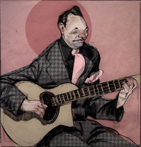 A quick sketch of Django Reinhardt.