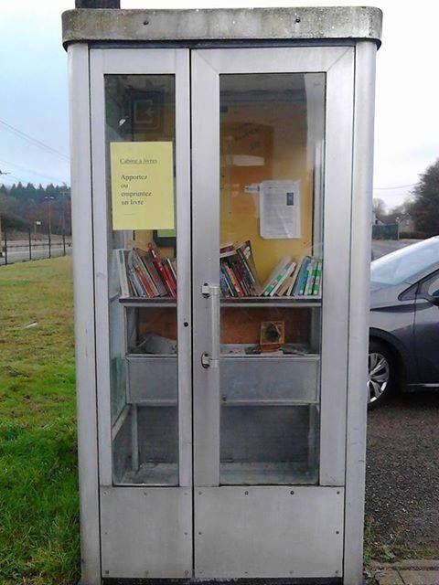 Cabine à livres Florenville