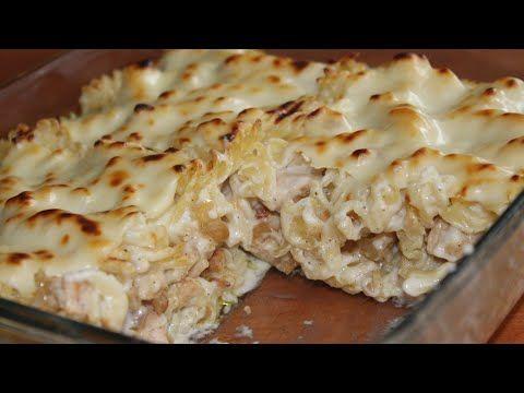 أسهل وأسرع معكرونة دجاج بالصلصة البيضاء لا تفوتكم Youtube Cooking Recipes Cooking Food