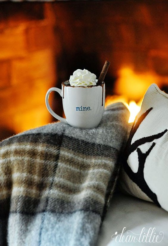 Enjoy Falls First Fire This blanket from @HomeGoods is such a cozy addition for fall and winter! #
