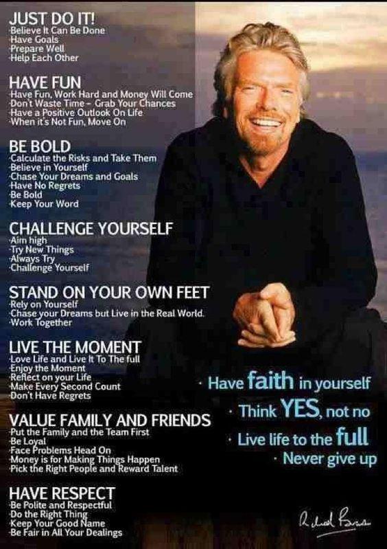 Branson Inspiration.