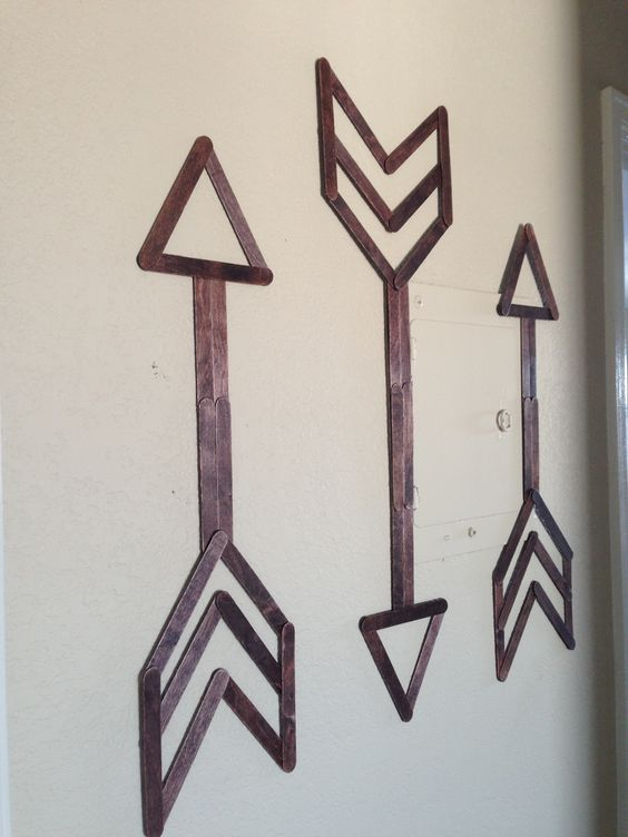 Popsicle Stick Wall Art | Festoon and Frill