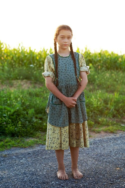 On the Road….Route 45, Woodward, Pennsylvania « The Sartorialist . Mennonite girl