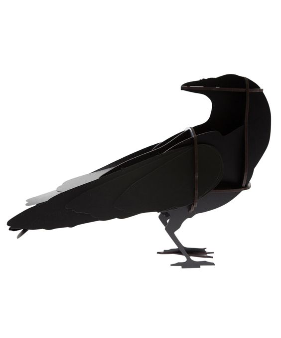 Black Gustav Raven Ornament, Ibride. Shop more from the Ibride collection online at Liberty.co.uk