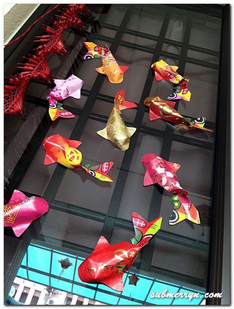 Chinese New Year - Ang Pao Fish tutorial