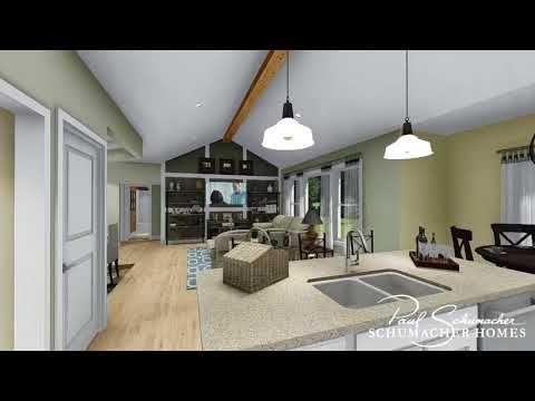 Abernathy F House Plan Schumacher Homes Building A House House Plans House