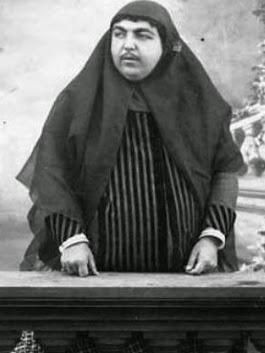 Princess Qajar daughter of Shah Nasser (1800s): hailed the most beautiful woman in Iran who had 13 men commit suicide over her beauty. http://ift.tt/2BLqRM6