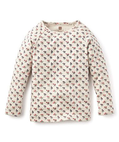This Feather Pequenas Floral Purity Tee - Girls is perfect! #zulilyfinds