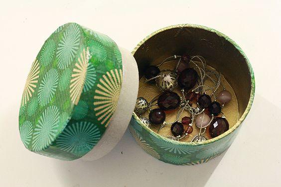 #DIY Packing Tape Cardboard Ring Box #Tutorial