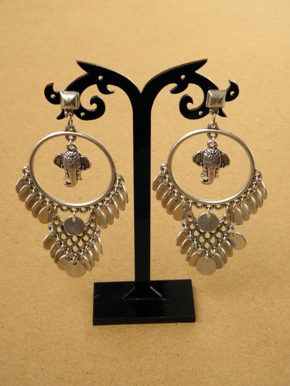 Love the Ganesh earrings