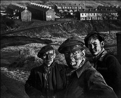 Eugene Smith - Welsh miners