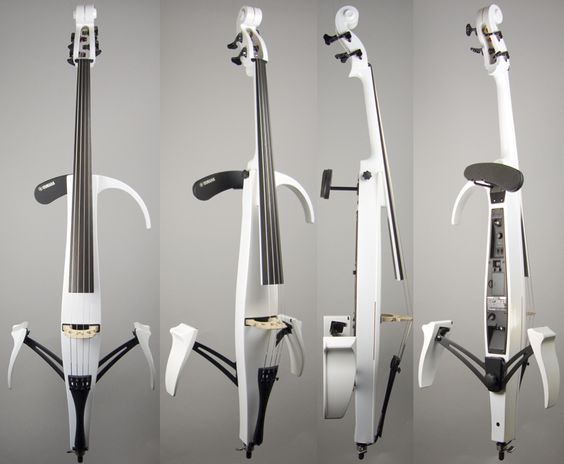 Yamaha svc 210 silent cello pearl white electric violin for Yamaha electric cello svc 210