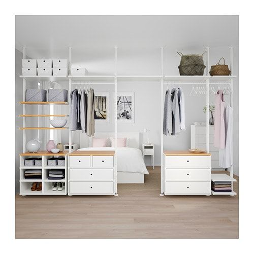 Us Furniture And Home Furnishings Ikea Closet Elvarli Ikea